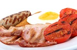 eggs meat photo